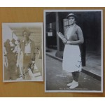 Mrs Fearnley Whittingstall Signed Trim & Other Photographs  British Team South Africa 1932