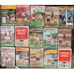Fifteen Sunday Chronicles from 1946-47 & Three Football Annuals from 1950-51