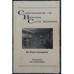 Compendium of British Club Makers Peter Georgiady First Edition 1994