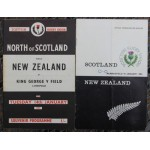 North of Scotland & Scotland v New Zealand 1964 Official Match Programmes **SOLD**