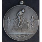 VERY RARE Six Day Cycle Race Medal Minneapolis Won by W J Morgan 1886  ***SOLD***